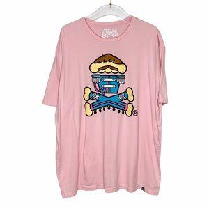 Johnny Cupcakes T-Shirt Band Tee Beatles Inspired